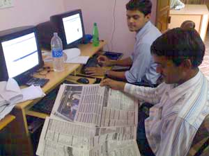 iVirtua Technical and Web Development Team office, India.